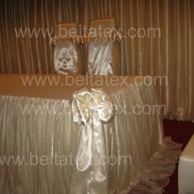 nikah masası tekstil giydirme